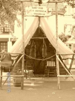 une tente de Trappeur