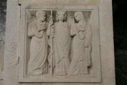 Le Mur des Fastes (IV/IV) : bas-relief de droite..
