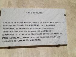 Donation de la Bastide à la Ville de Martigues