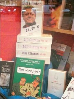 Un libraire qui a le sens de l'humour !