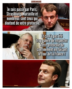 Macron a rencontré Raoult...