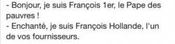 """Dialogue entre """"François""""..."""