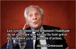 Syndicalistes...