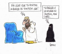 Ah, la burqa !....