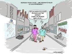 Priorité du gouvernement...