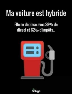 Macron bienfaiteur... de la voiture hybride !