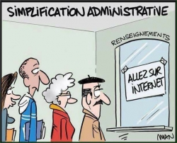 Modernisation des services publics !