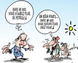 Fabius veut convaincre les Algériens !...