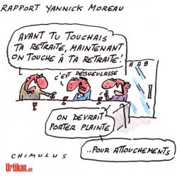 """Avec la CSG, Macron """"touche"""" aux retraites..."""