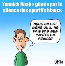 """""""Gêné"""" Noah ? Peuchère !..."""