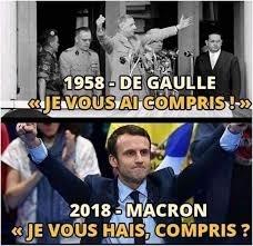 De Macron à de Gaulle (ou l'inverse !)