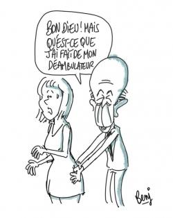 """Giscard et """"l'affaire de la journaliste allemande"""""""