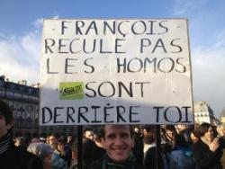 Attention, François... surveille tes arrières !