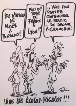 La convergence des crétins...