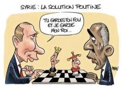 Syrie : la solution Poutine...