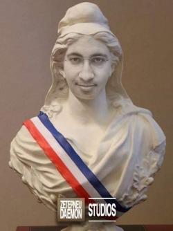 Elles est pas belle, Marianne ?...