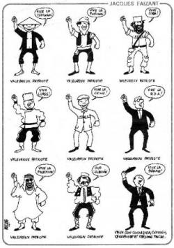 """""""la"""" caricature de Faizant, le précurseur....."""