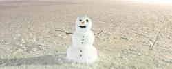 Petite histoire (drôle ?) : le bonhomme de neige..