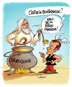 Potion magique, version Covid...