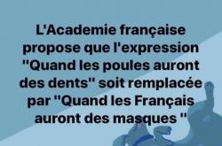 L'Académie française propose...