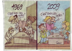 Evolution de l'enseignement...(I).
