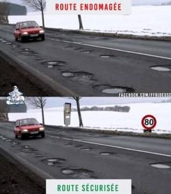 Réseau routier en voie de délabrement ?...