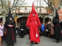 Il ouvre la procession : le Regidor...