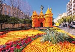 A Menton, c'est Carnaval et Fête du citron...