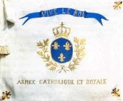 Drapeau de la Grande Armée Catholique et Royale...