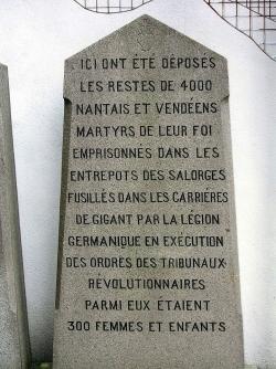Mémorial, Nantes, rue des Martryrs...