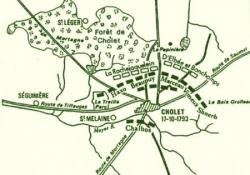 La bataille de Cholet.