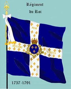 Régiment du Roi (à partir de 1757)