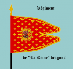Le Régiment de La Reine dragons