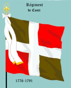 ...devenu Régiment de Conti en 1776
