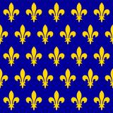 Bannière de France, Louis VII