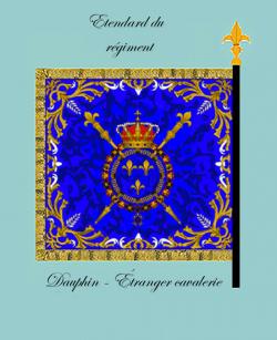 Régiment de Dauphin étranger cavalerie
