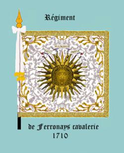 Régiment de la Ferronays en 1710