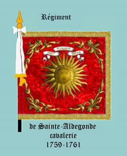 Régiment de Sainte Aldegonde cavalerie
