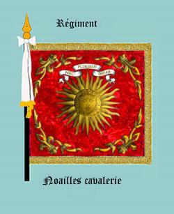 Régiment de Noailles cavalerie (avers)
