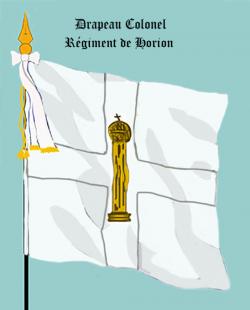 Régiment de Horion, Drapeau colonel