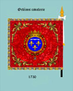 Orléanais cavalerie (revers)