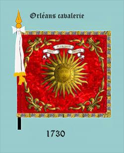 Orléanais cavalerie (avers)