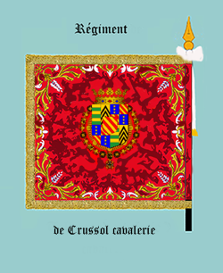 Régiment de Crussol cavalerie
