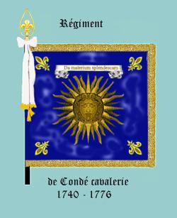 Le Condé dragons à partir de 1740