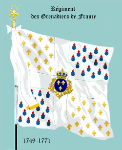 Grenadiers de France, Drapeau colonel