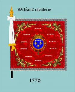 Orléanais cavalerie (1770)
