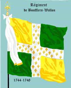 Régiment de Boufflers Wallon...