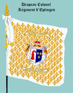 Régiment d'Eptingen, Drapeau colonel