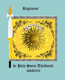 Régiment de Poly Saint Thiébault cavalerie