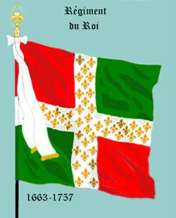 Régiment du Roi (jusqu'en 1757)